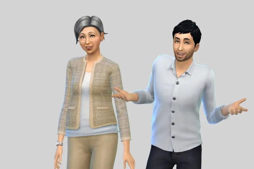 Sims 4 Pleasant Family 2