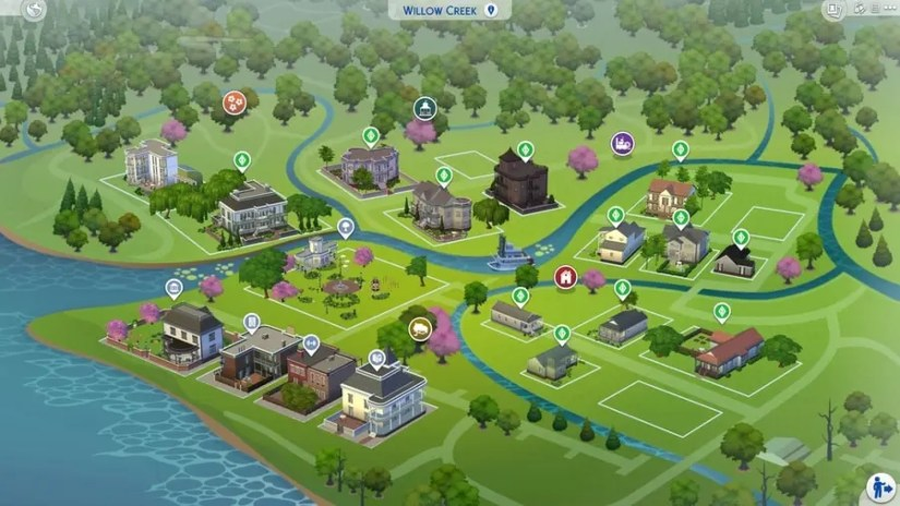 Sims 4 Willow Creek 25 Years After Pleasantview