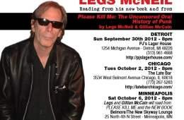 Legs McNeil: Fall 2012 Appearances