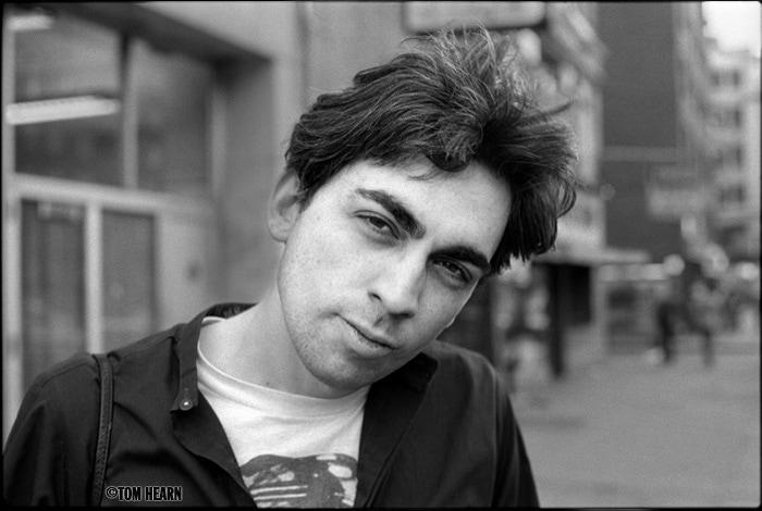 Chris Stein 1977 -photo© by Tom Hearn