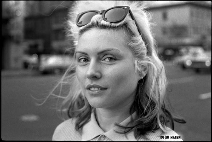 Debbie Harry 1977 -photo© by Tom Hearn