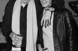 Arturo Vega and Legs McNeil 1978