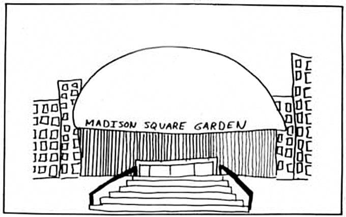 Madison Square Garden by Legs McNeil ©