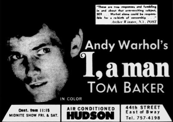 Village Voice ad for I, a Man. August 1967i_a_man