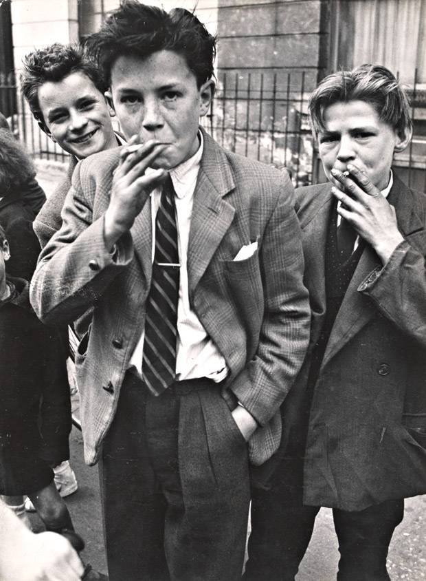 Teds in 1956 by Roger Mayne.