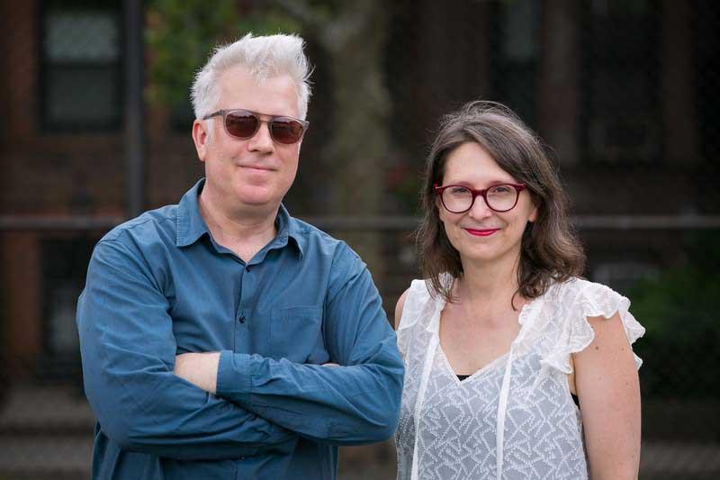 JP Olsen and Kristen Nutile