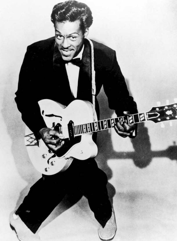 Chuck Berry in the 1950's