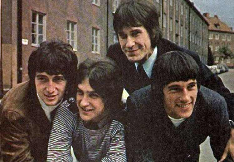public domain photo of The Kinks