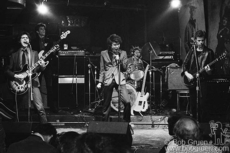 The Senders at CBGB photo © by Bob Gruen
