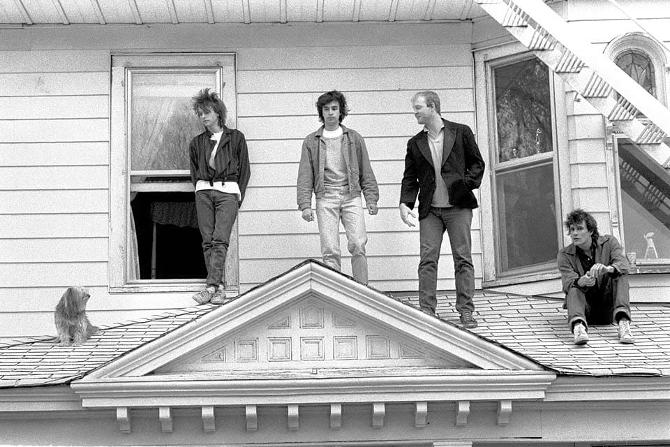 The Replacements - photo by © Dan Corrigan