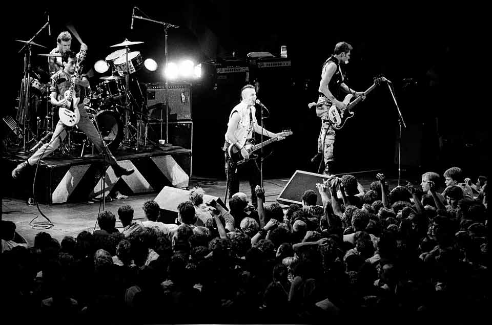 The Clash - photo by © Dan Corrigan