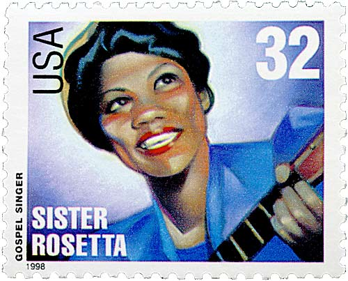 Sister Rosetta Stamp