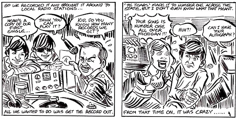 Bobby Balderrama story comic by Brian Walsby. ©pleasekillme.com