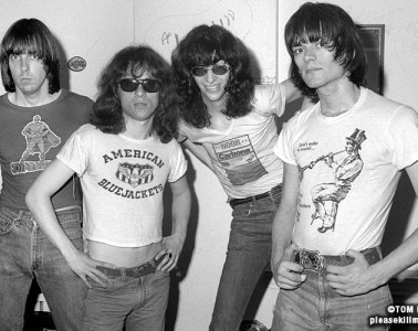 Ramones - July 1976 - photo by Tom Hearn