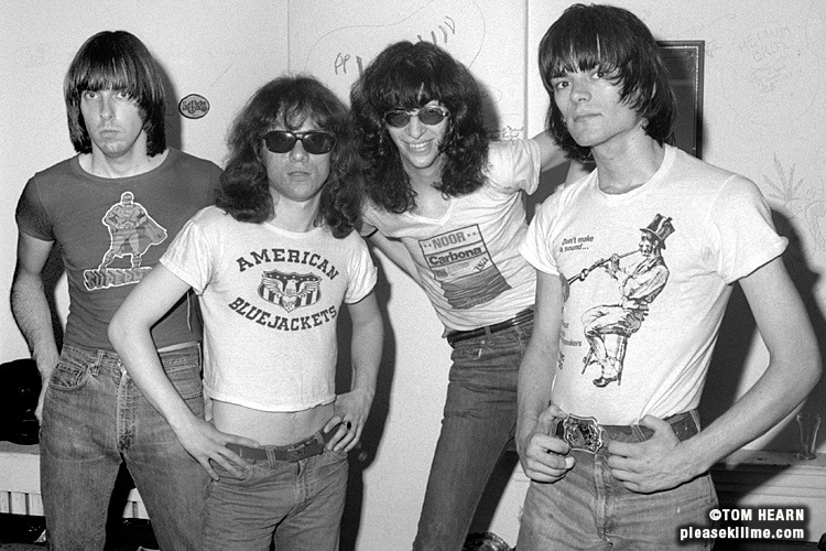 Ramones - July 1976 - photo by Tom Hearn