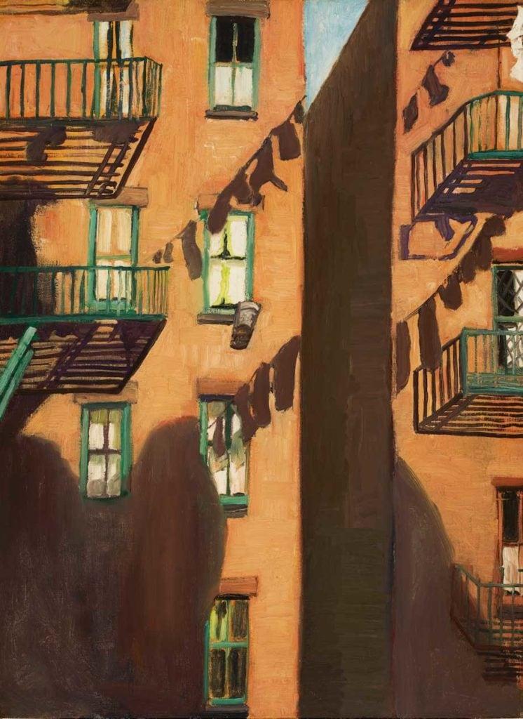 Fire Escape - by Alice Neel 1948