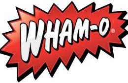 Logo for Wham-O toys