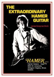 James Honeyman Scott in a Hamer guitar ad