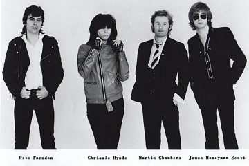 The Pretenders-Sire Records 1979 Promo photo