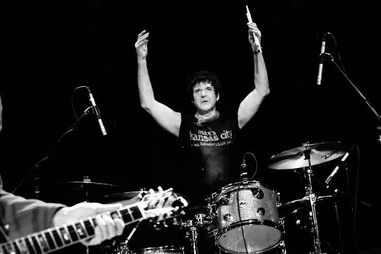 Clem Burke - Photo by Daggers for Eyes