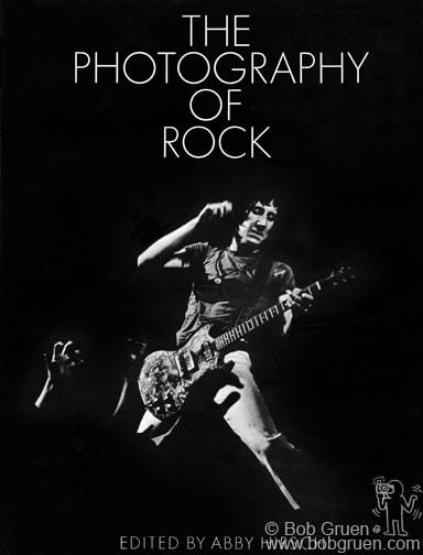 "Book cover for ""The Photography Of Rock"" © Bob Gruen / www.bobgruen.com"