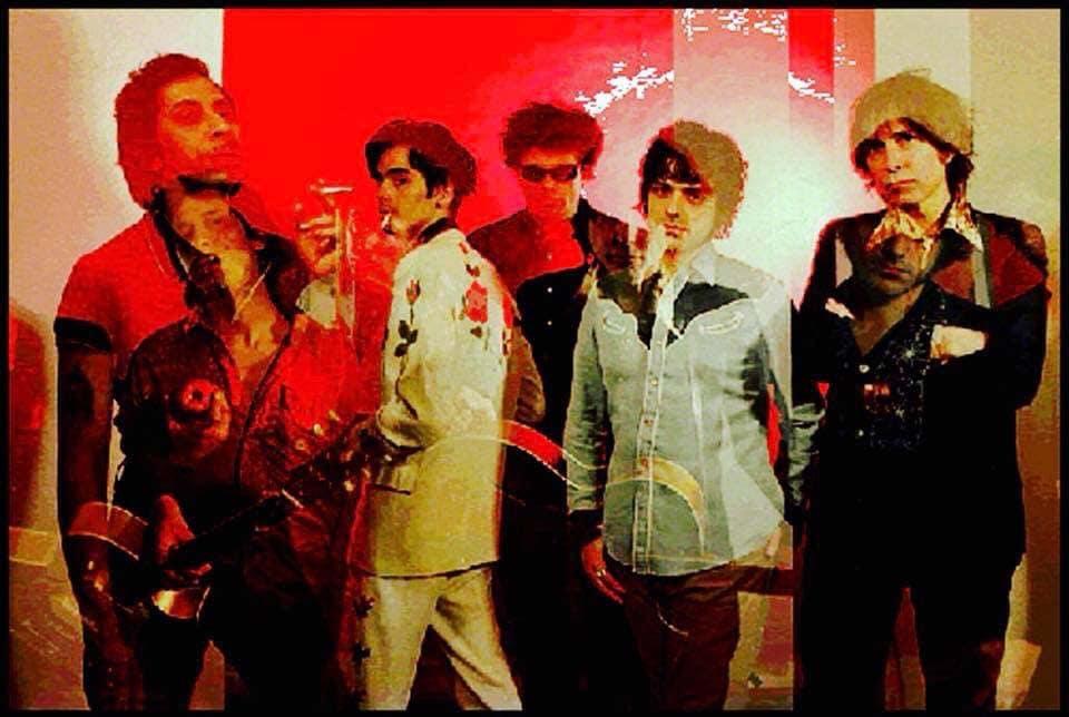 Knoxville Girls— Kid Congo, Jack Martin, Bob Bert, Barry London, Jerry Teel. photo by Ali Smith