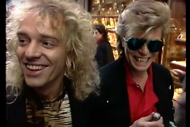 Peter Frampton & David Bowie
