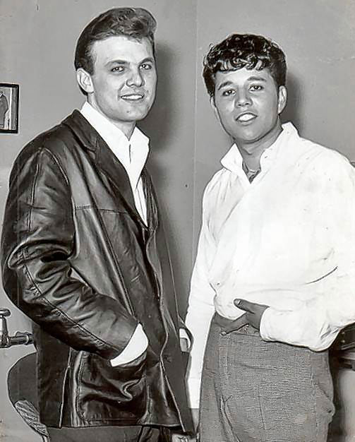 Tommy Roe and Chris Montez. 1963.