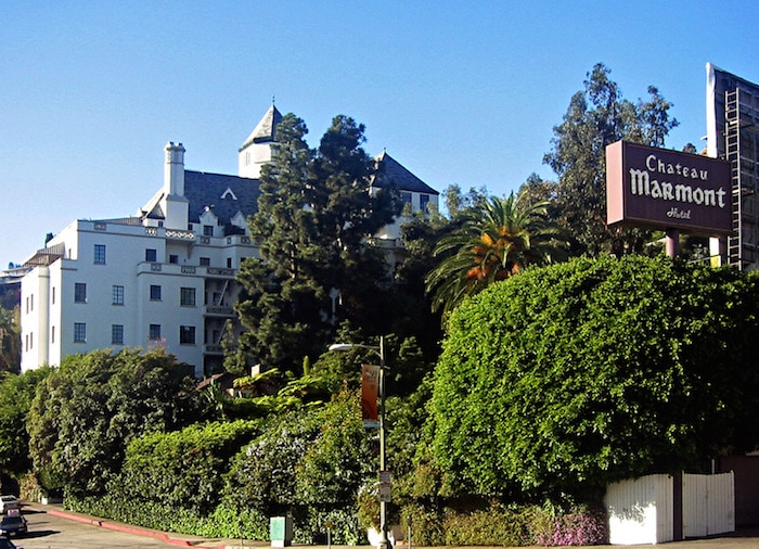 Chateau Marmont in Los Angeles - by Gary Minnaert via CC