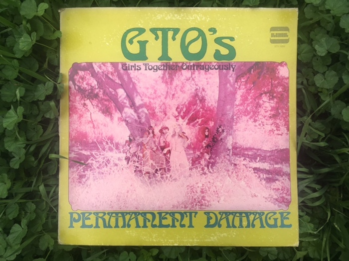 GTO album cover by Andee Cohen. Photo by Lucretia Tye Jasmine