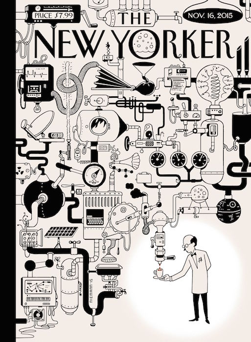 Rube Goldberg in the New Yorker Magazine