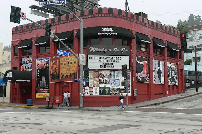 Whisky a Go Go in Los Angeles Photograph by Mike Dillon via CC