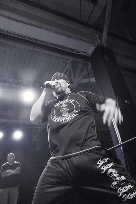 Suicidal Tendecies performing at House Of Vans in Brooklyn. Photo by Rick Casados