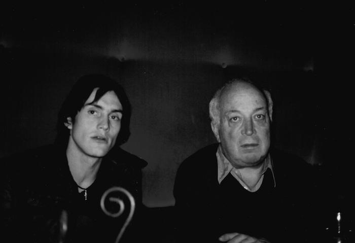 Seymour with Antony Langdon