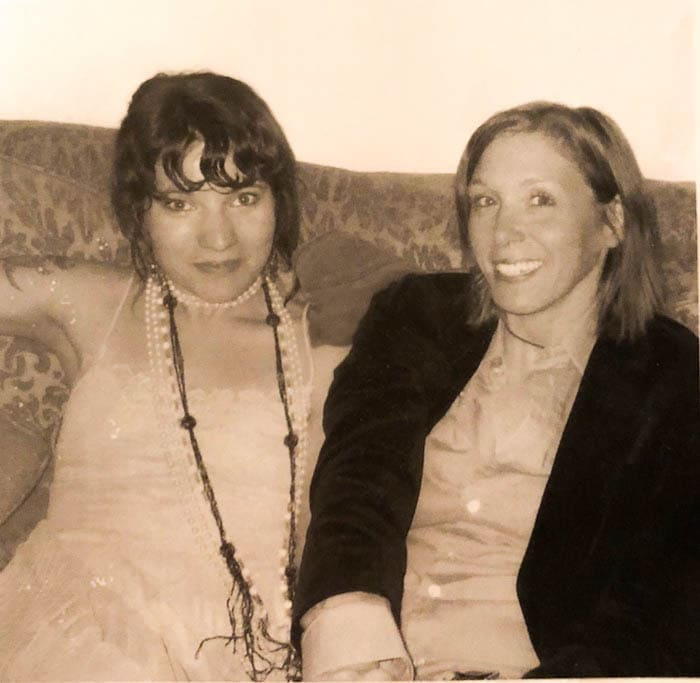 Christina and Patty at the beginning of their relationship. Six months sober, 2005. Photo by Christina Soletti
