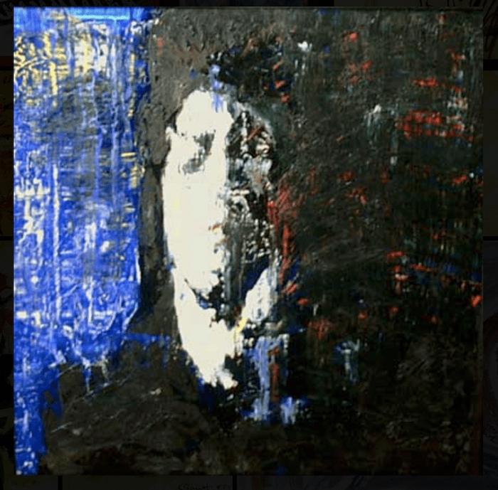 Self portrait by sad Barrett
