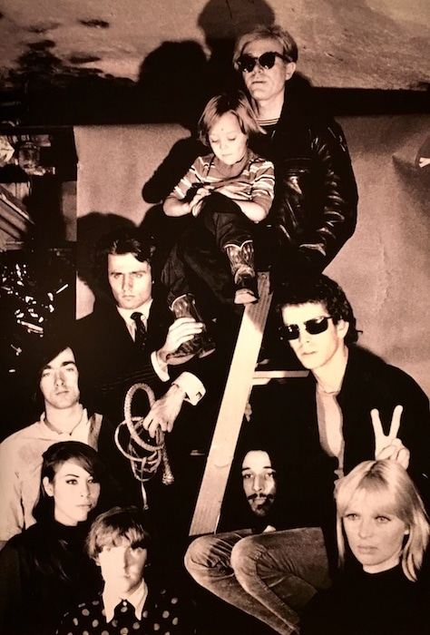 The Velvet Underground with Andy Warhol and friends.