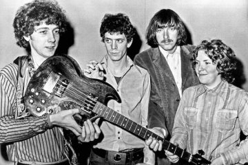 The Velvet Underground in 1970: Doug Yule, left, Lou Reed, Sterling Morrison and Moe Tucker. (Michael Ochs Archives / Getty Images)
