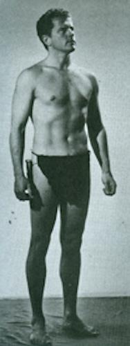 Jim as Tarzan