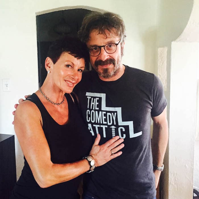 Marc Maron and Sharon Mitchell