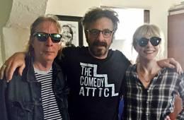 Legs McNeil, Marc Maron, and Gillian McCain