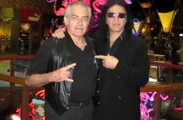Ken Kelly and Gene Simmons