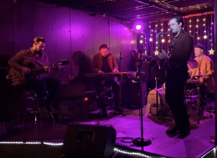 Freddy DeBoe Band at Cafe 9, by Kelly Reilly
