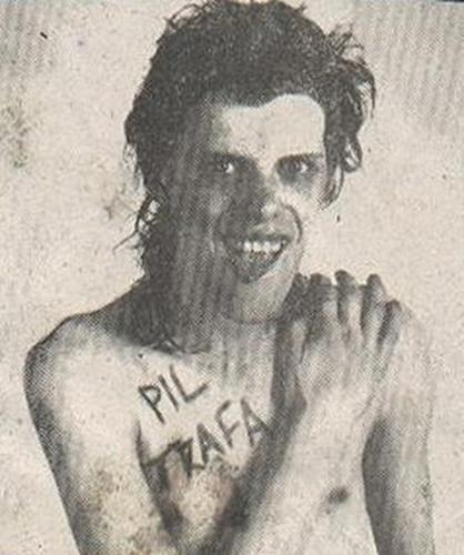 Pil Trafa, singer of Los Violadores