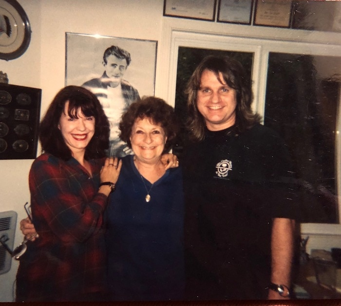 Pamela Des Barres, Toni Lee Scott, and Kip Brown