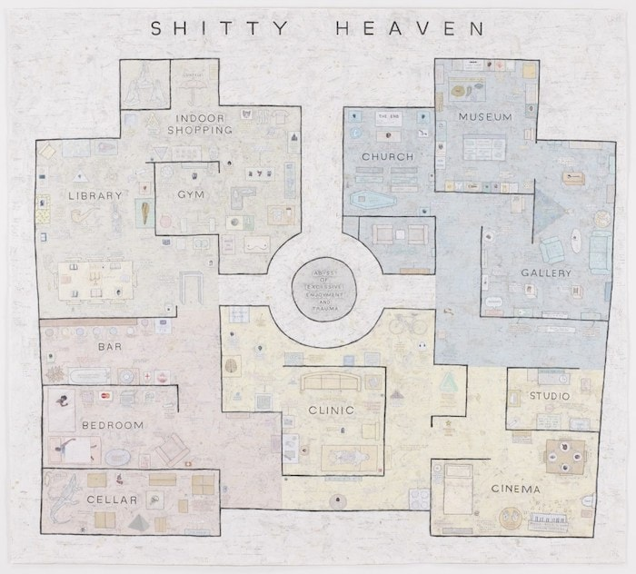 Shitty Heaven by Simon Evans 2010