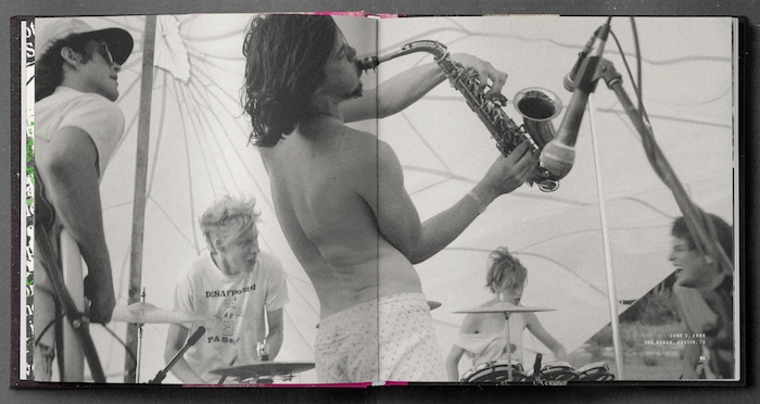 A spread from the book