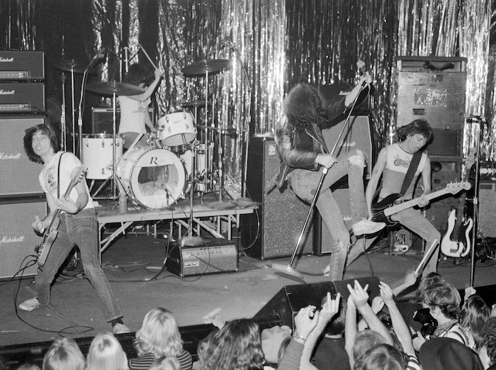 The Ramones at The Whiskey Feb. 1977