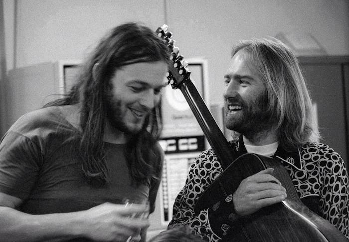 Roy Harper and David Gilmour