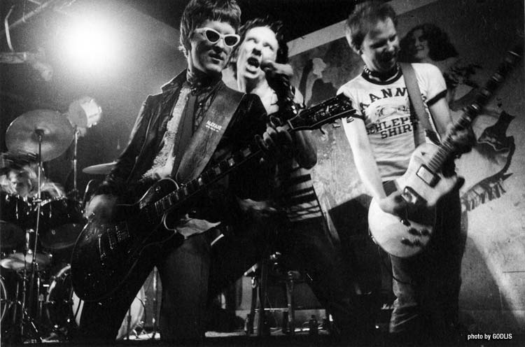 Dead Boys, CBGB 1977 - By Godlis